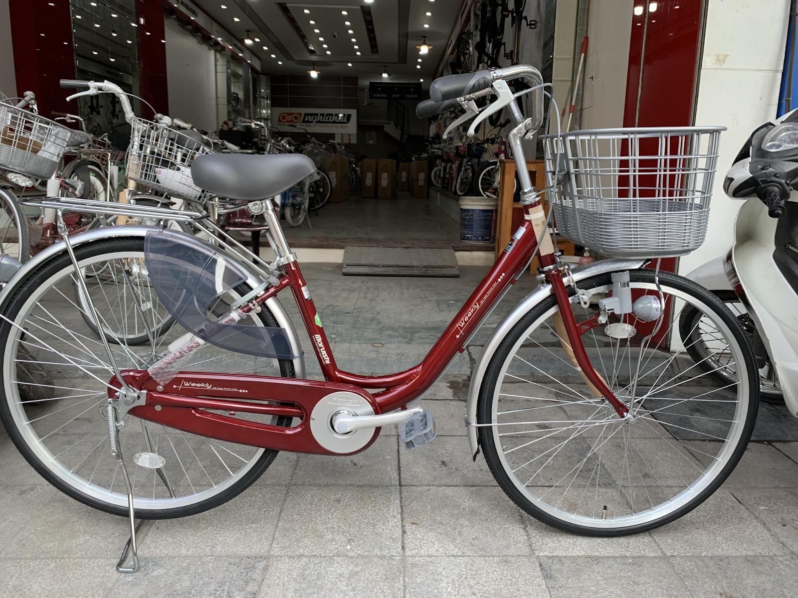 các hãng xe đạp mini nhật