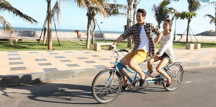 phụ kiện xe đạp đôi