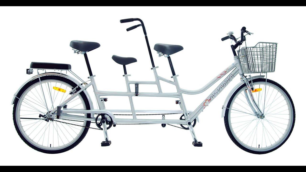 xe đạp đôi asama