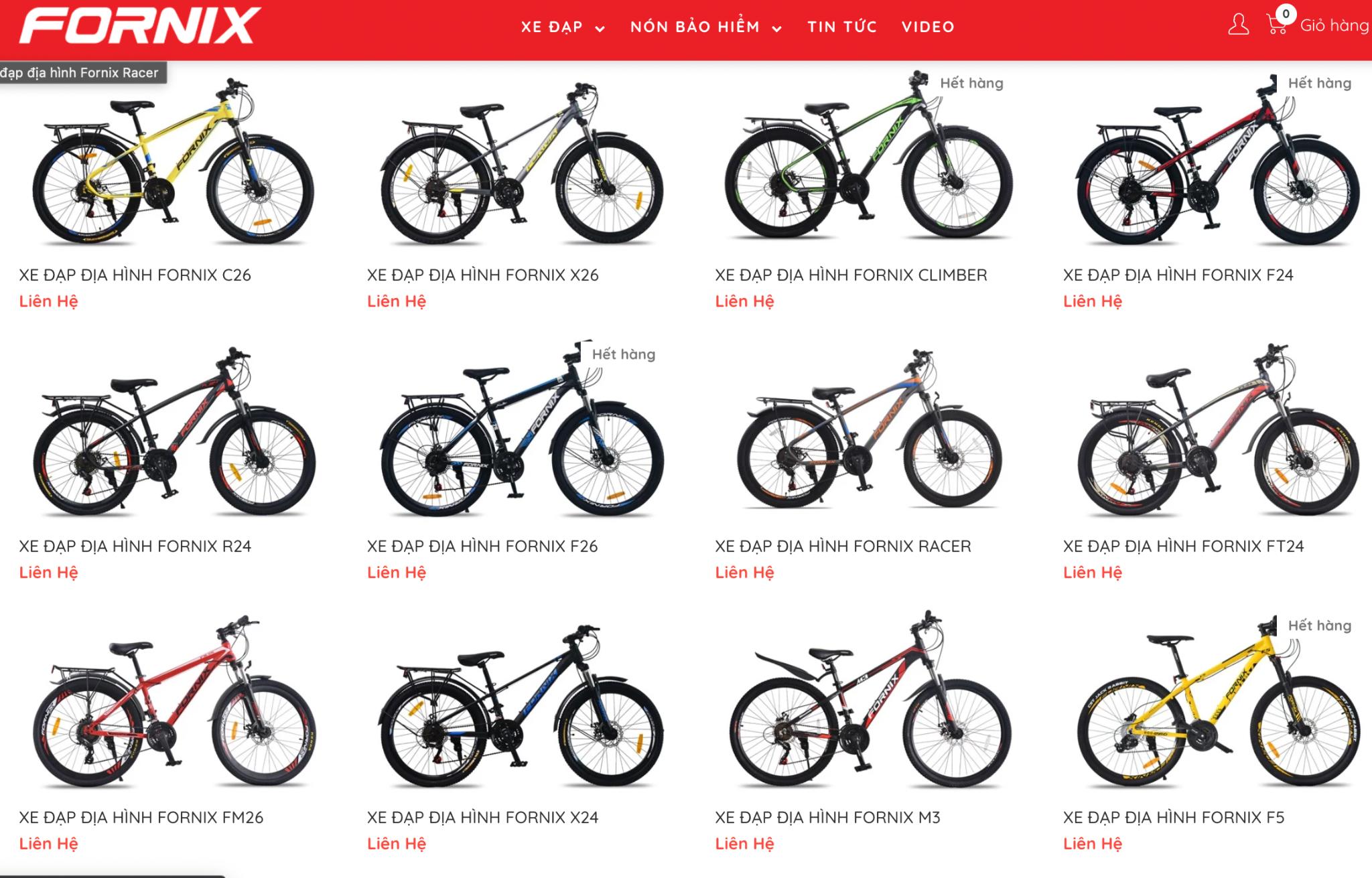 chỗ bán xe đạp không phanh