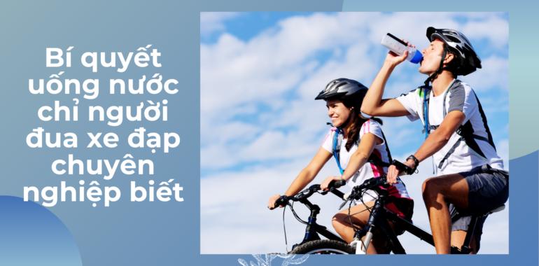 đạp xe uống nước gì