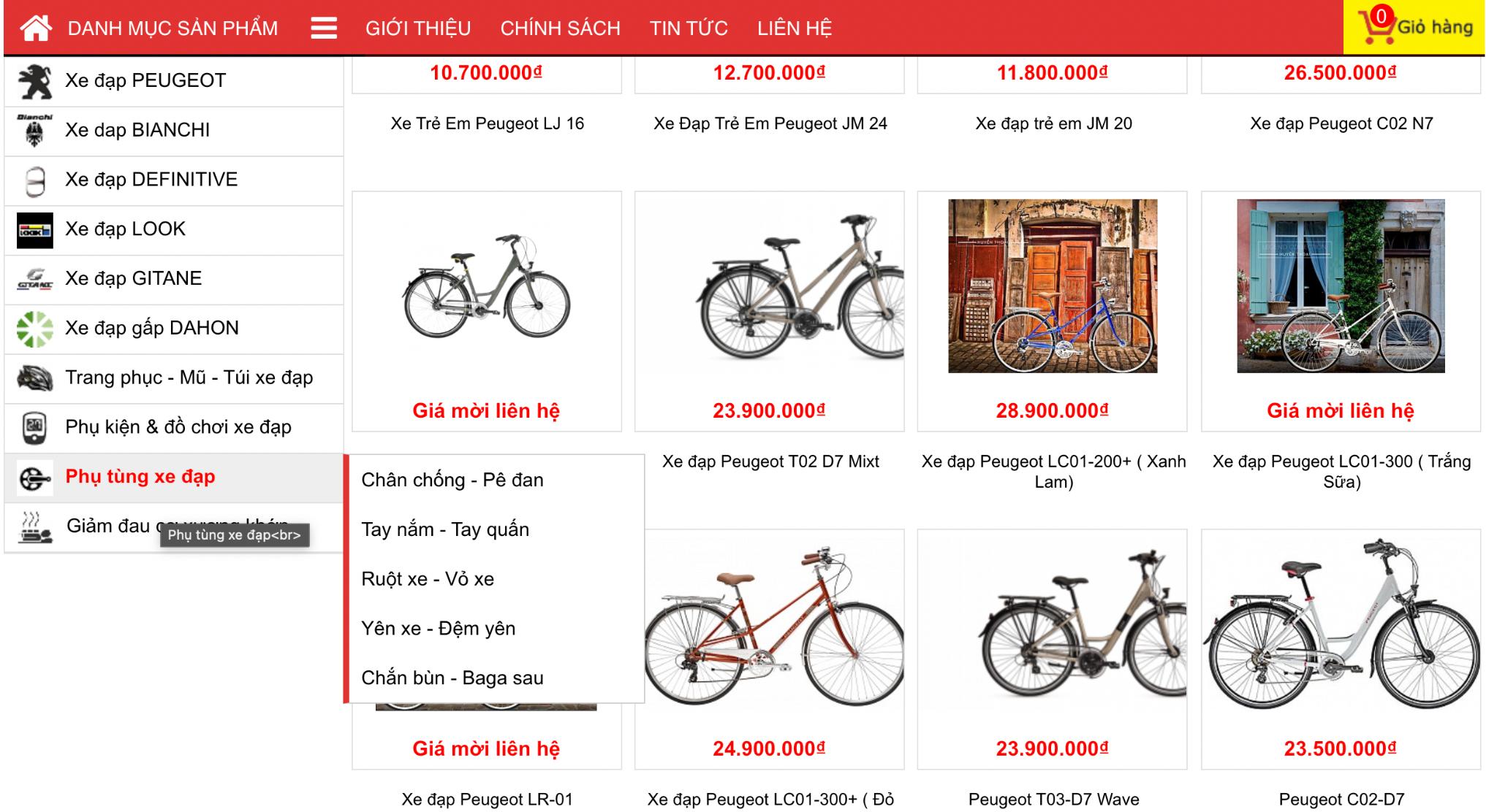 mua xe đạp không phanh ở đâu