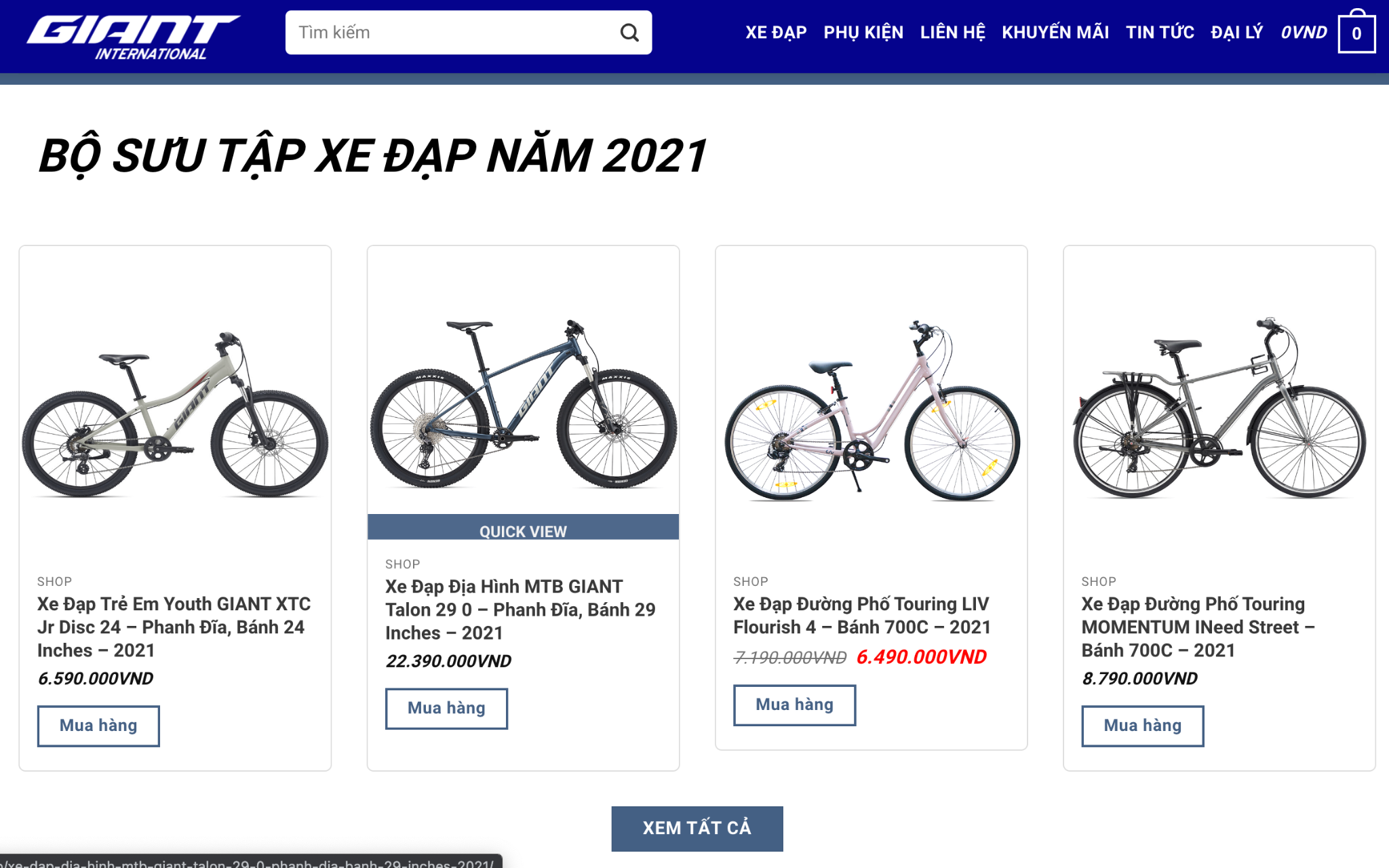 những nơi bán xe đạp không phanh