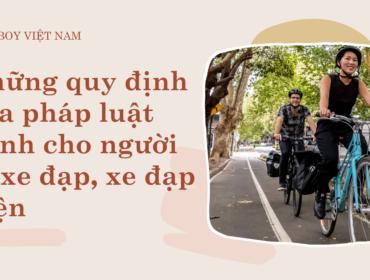 quy định của pháp luật đối với người đi xe đạp